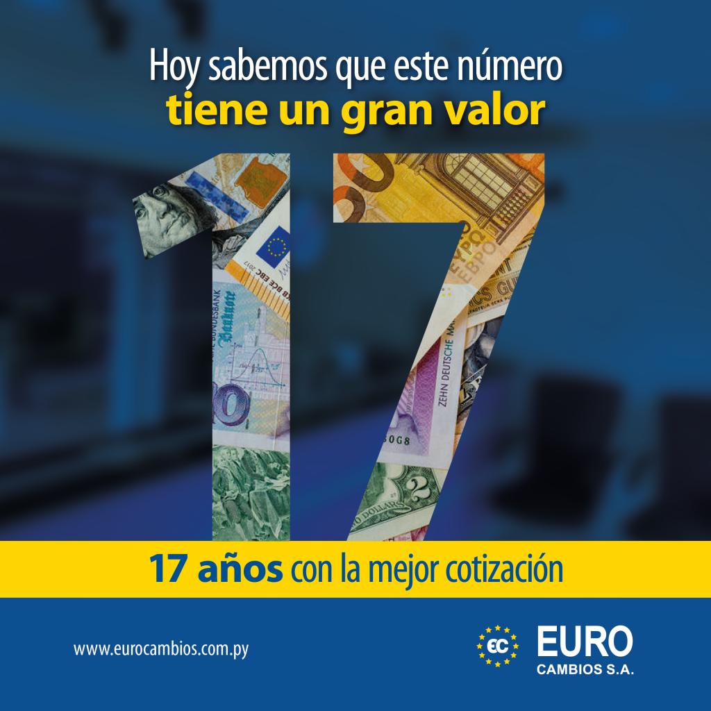 17° aniversario Euro Cambios